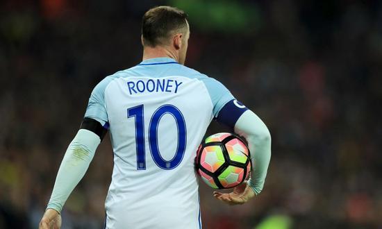 鲁尼宣布退出英格兰代表队 119战53球历史第1射手