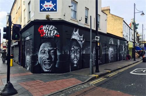 南伦敦移民区折叠黑暗与荣光