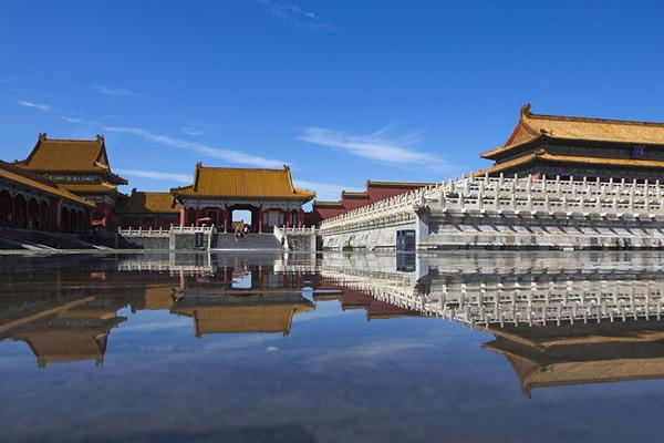 雨后北京晴空万里
