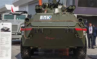 近距离接触俄罗斯最新轮式步战车