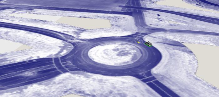 """谷歌揭露测试无人车的""""虚拟城市"""""""