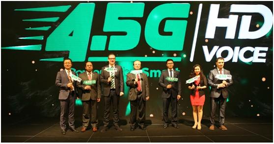 华为与柬埔寨移动运营商搭建4.5G网络