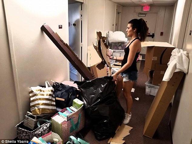 美两位女大学生改造宿舍:恐怖旧楼变奢华公寓