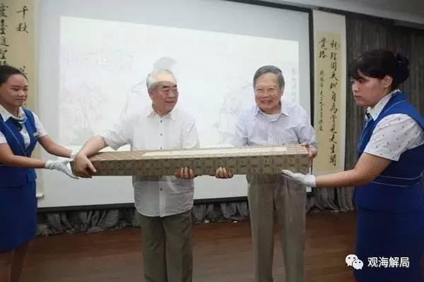 这位正军级少将给杨振宁贺寿 曾让神舟五号安全回家