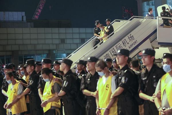 44名电信诈骗嫌犯从马来西亚被押回国