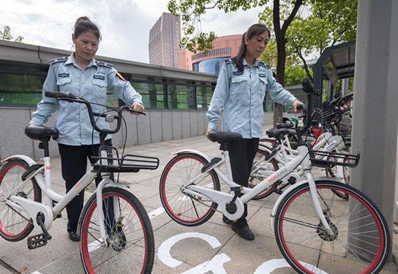 破解共享单车停放难题 武汉新增1.5万处停放点