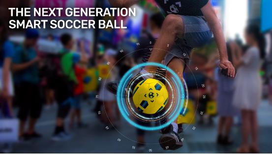 能帮你提高球技的智能足球 成为球队大腿不是梦
