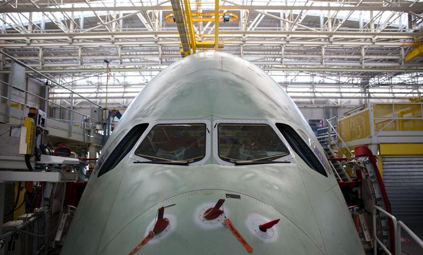 A380诞生地:参观全球最大最贵客机的装配工厂