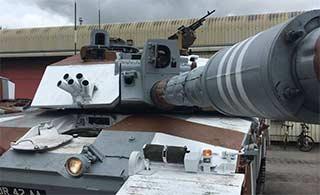 英国挑战者坦克涂装很像印度