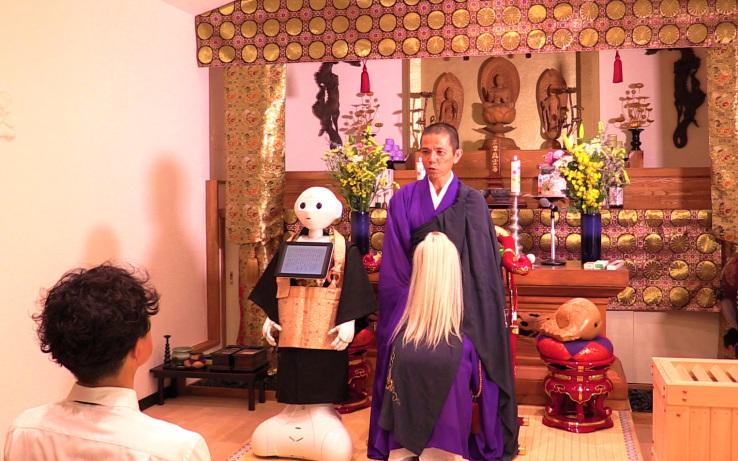 机器人被用于葬礼 为什么说这是万万不应该的?