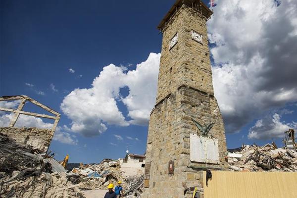意大利中部地震一周年:回访阿马特里切