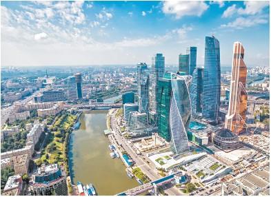 """莫斯科""""智慧城市""""亮点多 打造前卫基础实施"""