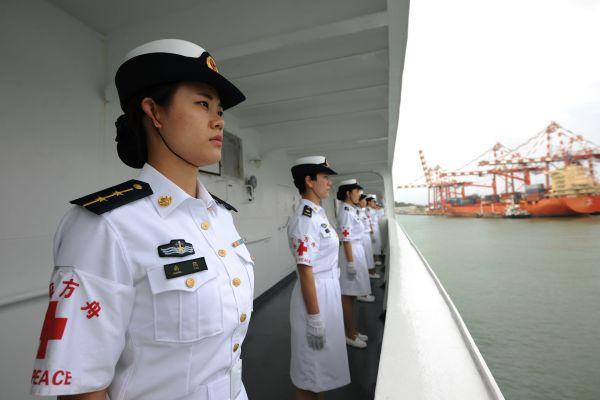 俄媒评和平方舟号医院船远航:展现中国软实力