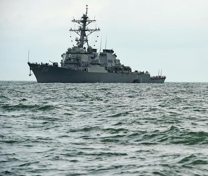 """外媒:美军司令称撞船不影响""""巡航""""南海"""