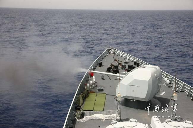 发出强硬信号?印媒紧盯中国海军印度洋实弹演练