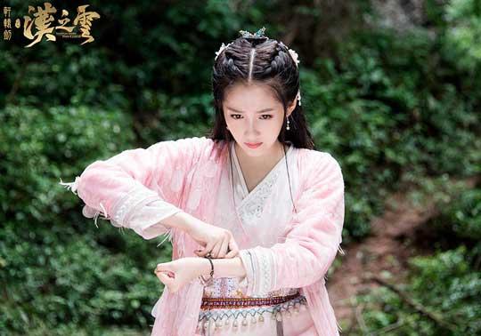 《轩辕剑之汉之云》关晓彤女友力惊人 观众想拿刀