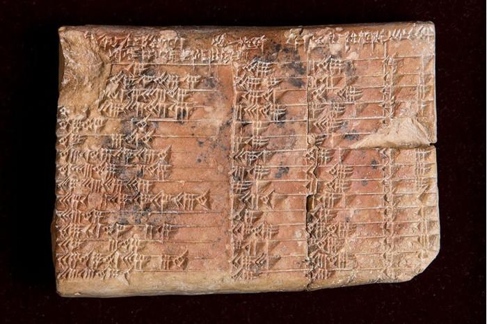 古老泥板文书:巴比伦学者可能早已发明三角学