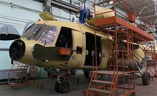 走进俄直升机厂看米17如何生产