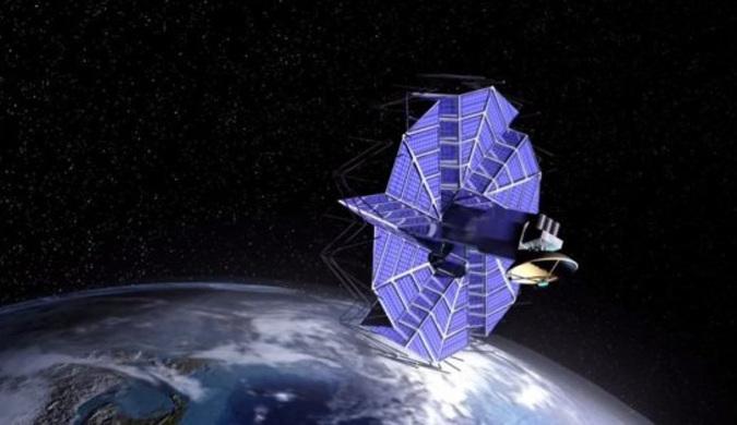 未来可能被用于探索金星的可折叠机器着陆器