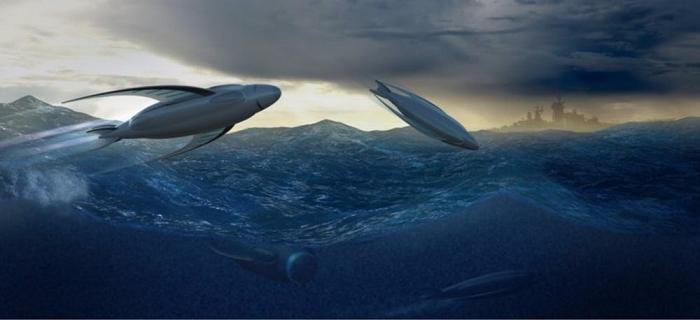 看起来很梦幻!英国海军将研发水下概念无人机