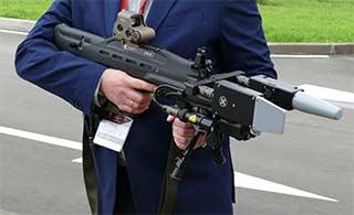 俄罗斯研发反无人机武器造型科幻