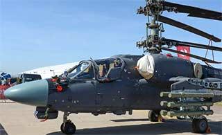 卡52K武装直升机旋翼如此折叠