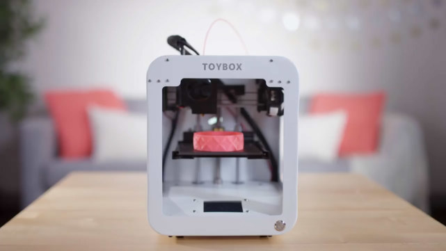 专为孩子设计 3D打印机让小朋友自己动手做玩具