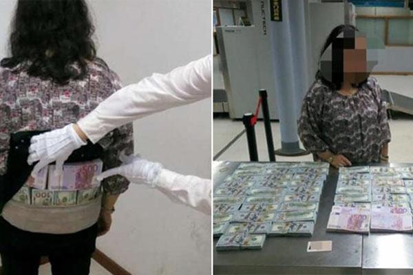 两香港女子身绑1123万现金闯海关被拦下