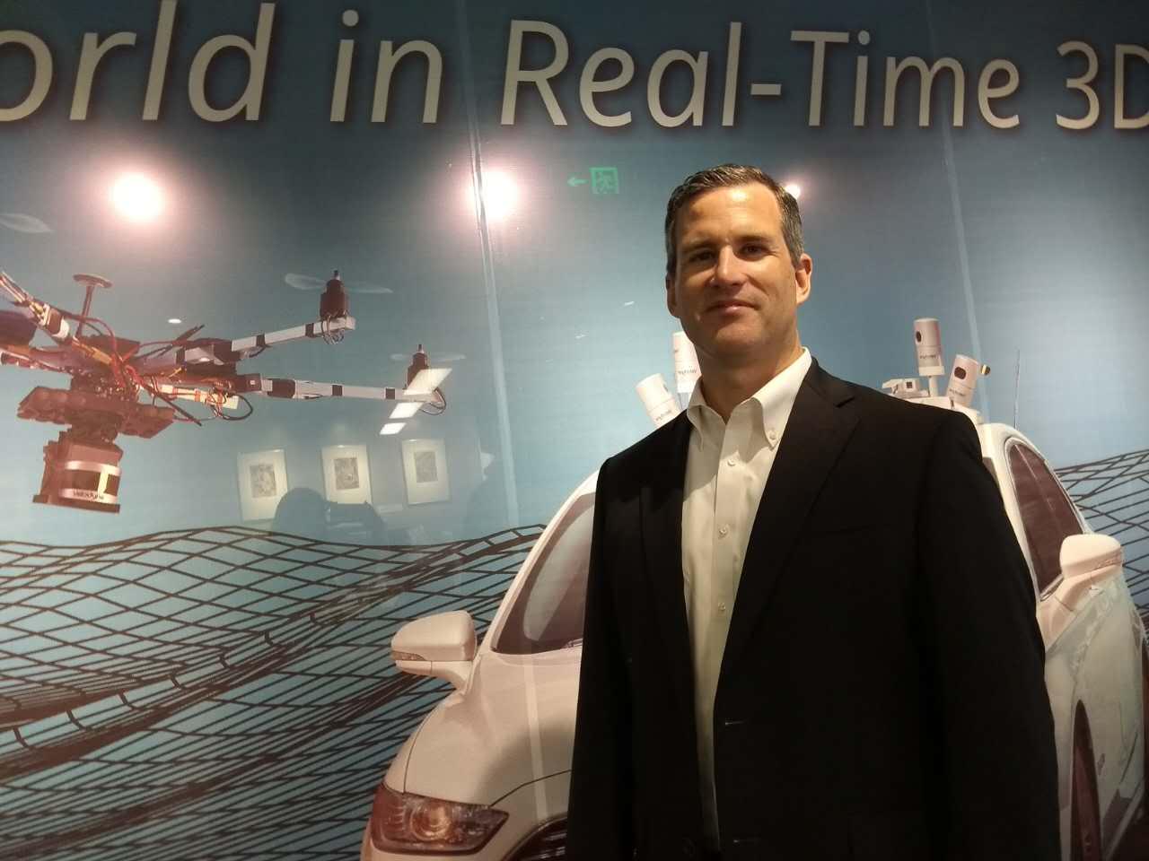 Velodyne总裁专访:无人驾驶万事具备已经在学步阶段