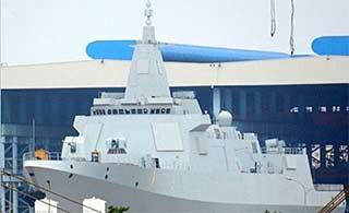 中国三代盾舰同角度对比055最帅