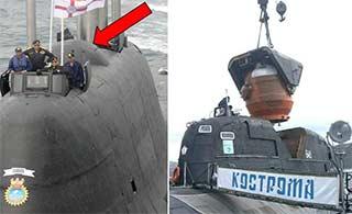 印度最先进核潜艇逃生舱曝光