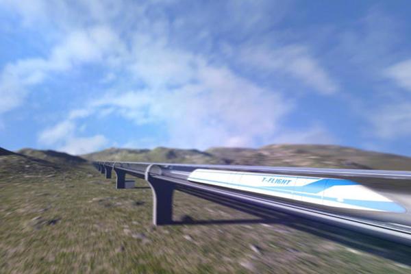 中国研制时速1000公里磁悬浮列车