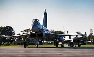 英国部署台风战机到前苏联加盟国