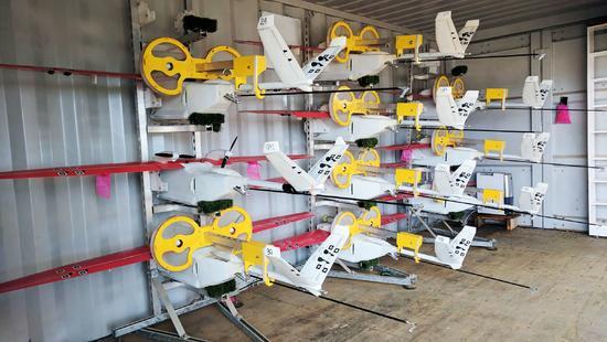 无人机为非洲空投医疗用品:已完成了1400次配送