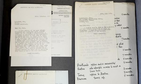 图灵近150封信被发现,很多信件在讨论人工智能