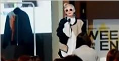"""美国64岁女教授意外""""变身""""时尚大咖"""