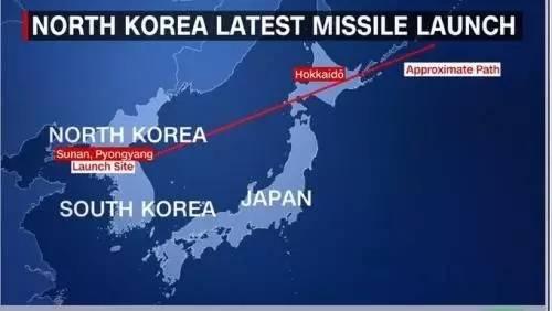 飞越日本上空的朝鲜导弹 日本为啥不拦截?