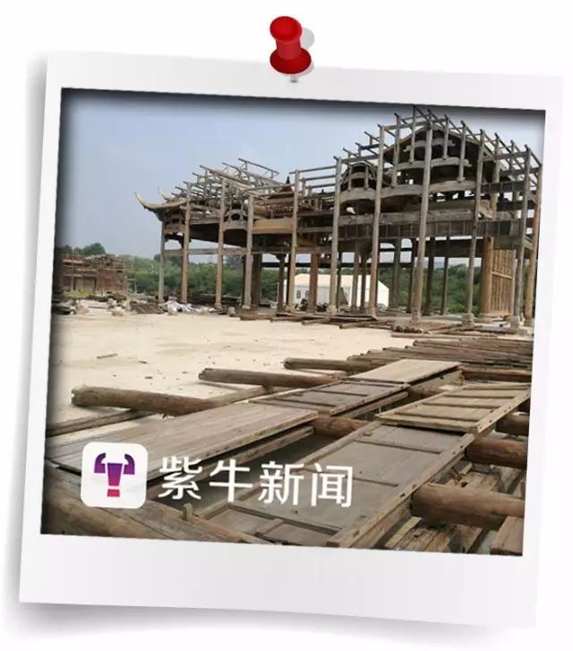 """江西耗资亿元古建筑""""移居""""南京 涉违建被责令整改"""