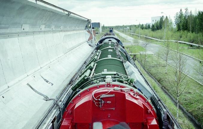 俄媒解密俄军未来导弹列车:2分钟发36颗核弹头