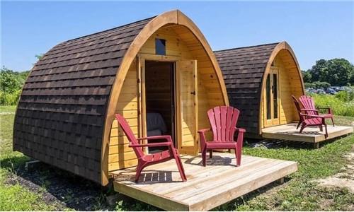 旅游新选择:愈来愈多法国人出租自家花园给露营者