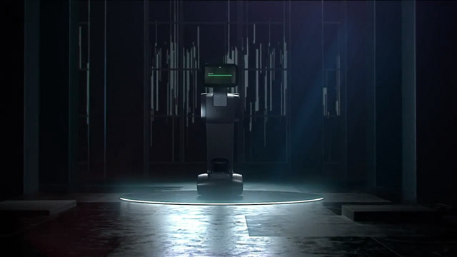 升级版谢尔顿机器人出现 可走过来给你放电影