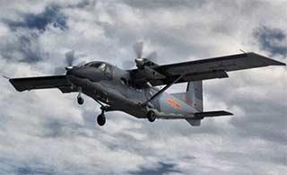 空军装备运12运输机涂装很惹眼