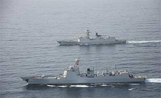 编队亚丁湾交接27批开始护航