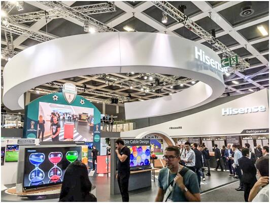 """用新技术占位 海信IFA展接受欧洲消费者""""阅兵"""""""