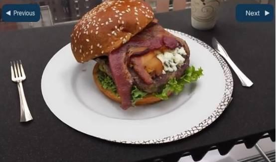 不只游戏和商业 未来餐馆将可用AR技术虚拟点菜
