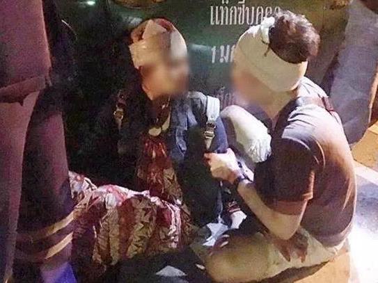 2名中国游客在泰国曼谷遭歹徒砍伤 凶手已被抓获
