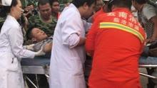 面包车撞向防护带4人被困 沧源消防紧急救援