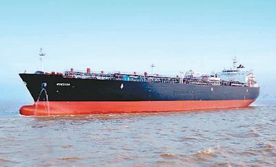 中国造船业跻身世界前列 上半年订单量全球第一
