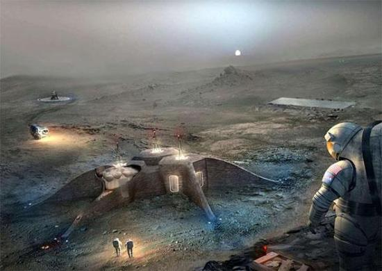 用3D打印在外星球安家?NASA这条设想已完成大半