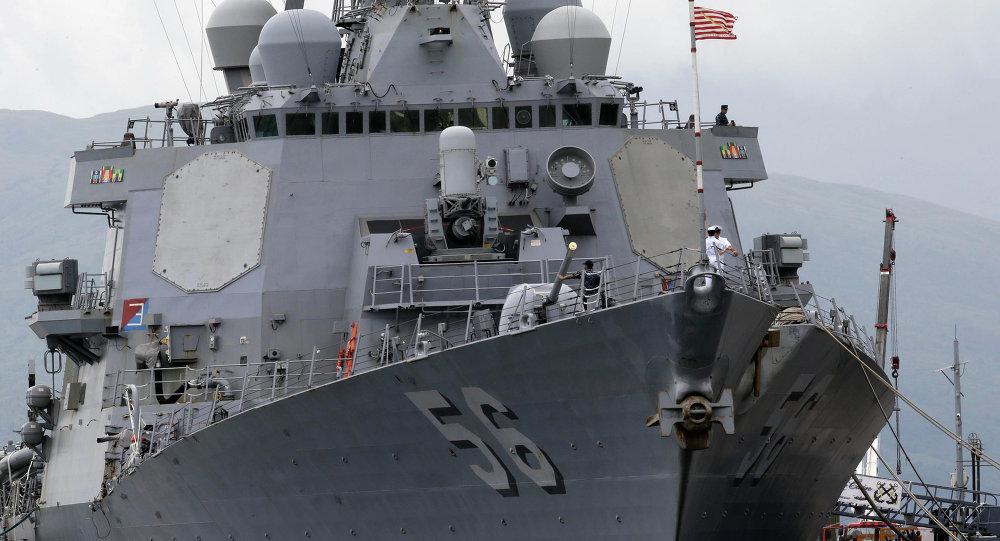 """死磕中国?美军制定南海""""航行自由""""日程表"""